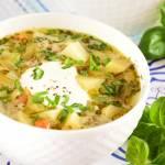 Moja ulubiona zupa ogórkowa na skrzydełkach