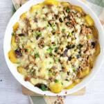 Zapiekanka chłopska z mięsem mielonym i ziemniakami / Potato Ground Meat Casserole