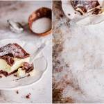 Czekoladowa karpatka z kremem kokosowym / Chocolate karpatka with coconut cream