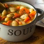 Lekka zupa fasolowa dla dzieci