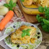 Filet z kurczaka zapiekany w warzywach