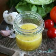 Mandarynowy dressing do sałatek