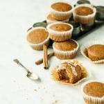 Cynamonowe babeczki z mąki razowej