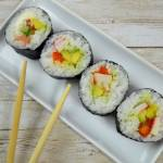 Domowe sushi + film