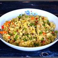 Potrawka ryżowa z rybą