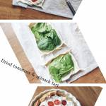 Tarta ze szpinakiem i suszonymi pomidorkami