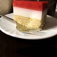 Ciasto Truskawkowa Kostka