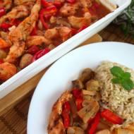Kurczak zapiekany w ketchupie – szybki i prosty przepis na obiad