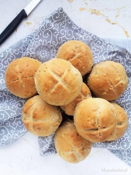 Bułki z prażoną cebulką / Fried Onion Buns