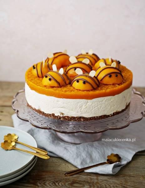Pyszne ciasto PSZCZÓŁKA bez pieczenia