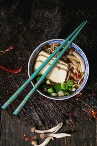 Ramen z tofu