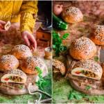 Bułeczki faszerowane warzywami
