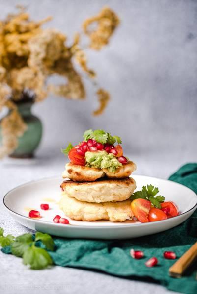 Australijskie placki ziemniaczane z guacamole