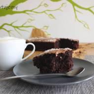 Czekoladowe ciasto z coca-colą (bez użycia miksera)