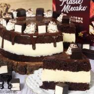 Tort a'la Ptasie Mleczko (bez glutenu, cukru białego)
