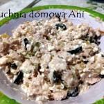 Pasta serowa z tuńczykiem i oliwkami