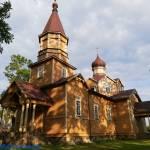 Cerkiew Parafialna Narodzenia św. Jana Chrzciciela w Nowej Woli woj. podlaskie