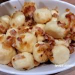 Ruskie kluski z okrasą - szybki i tani obiad
