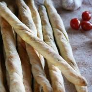 Grissini - włoskie paluchy chlebowe