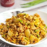 Ryż smażony z mięsem mielonym. Szybko, orientalnie i pysznie. PRZEPIS