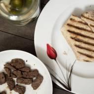 Zgrzewane tortille z wołowiną a la gyros