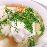 Domowa zupa kalafiorowa