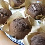 Muffinki z czekoladą w środku