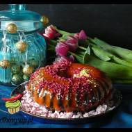 Ciasto marchewkowe z polewą lustrzaną