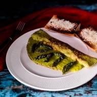 Frittata szparagowa o truflowym smaku z Chorwacji