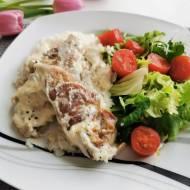 Kurczak w sosie gorgonzola
