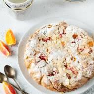 Migdałowe ciasto pachnące kardamonem i pomarańczą