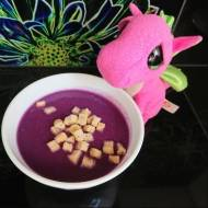 Fioletowa zupa krem