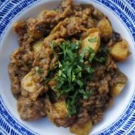 Indie - Aloo Baingan, czyli ziemniaki z bakłażanem