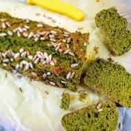 Kosmiczny chlebek szpinakowy