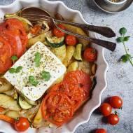 Warzywa pieczone z fetą