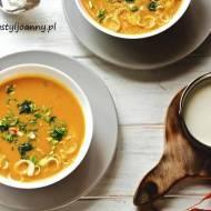 Zupa krem z batatów.