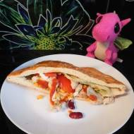 Kebab z kurczakiem i warzywami
