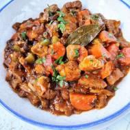 Gulasz z karkówki po myśliwsku / Pork Neck Stew