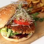 Burger drobiowy w panierce panko