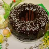 Babka budyniowa z budyniem czekoladowym – pyszna i wilgotna