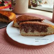 Ciasto kokosowo kakaowe bez  jajek i tłuszczu