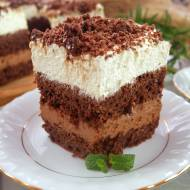 Ciasto Przysmak Sułtana z masą truflową – pyszne i efektowne