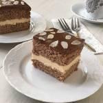 Ciasto z mascarpone i masą krówkową