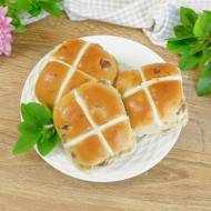 Hot Cross Buns – brytyjskie bułeczki wielkanocne