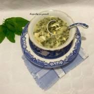 Zupa szczawiowa-przepis mojej mamy