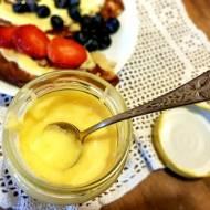 Lemon curd - tradycyjny cytrynowy krem angielski
