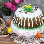 Czekoladowo-pomarańczowa babka drożdżowa
