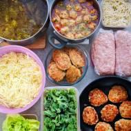 Meal prep obiady na tydzień