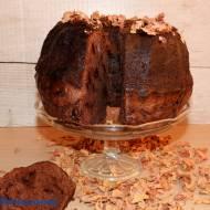Babka czekoladowo - różana