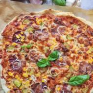 Pizza na świeżych drożdżach